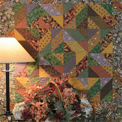 Three Patch Quilt from Thimbleberries Small Wonders