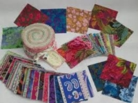 Many pre-cut fabric bundles are available