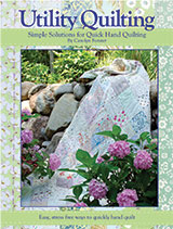 Utility Quilting Carolyn Forster Book Cover