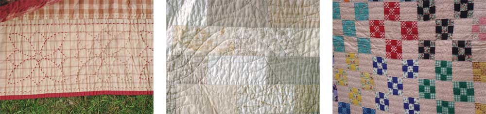 Utility Quilting shows you how to hand-quilt your project quickly!
