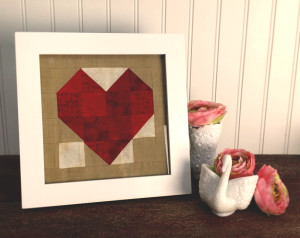 Framed Quilt Block
