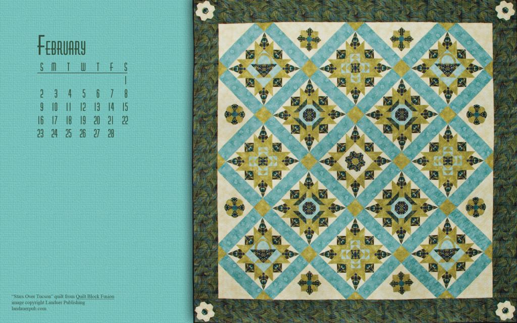 Quilt Block Fusion Quilt Calendar