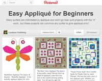 pinterest easy applique for beginners