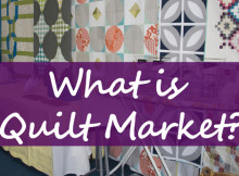 What is Quilt Market?