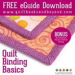 How to Bind a Quilt Free eGuide Download
