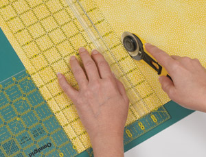 "If you have only a 6"" wide ruler, use two rulers to measure 6-1/2""."