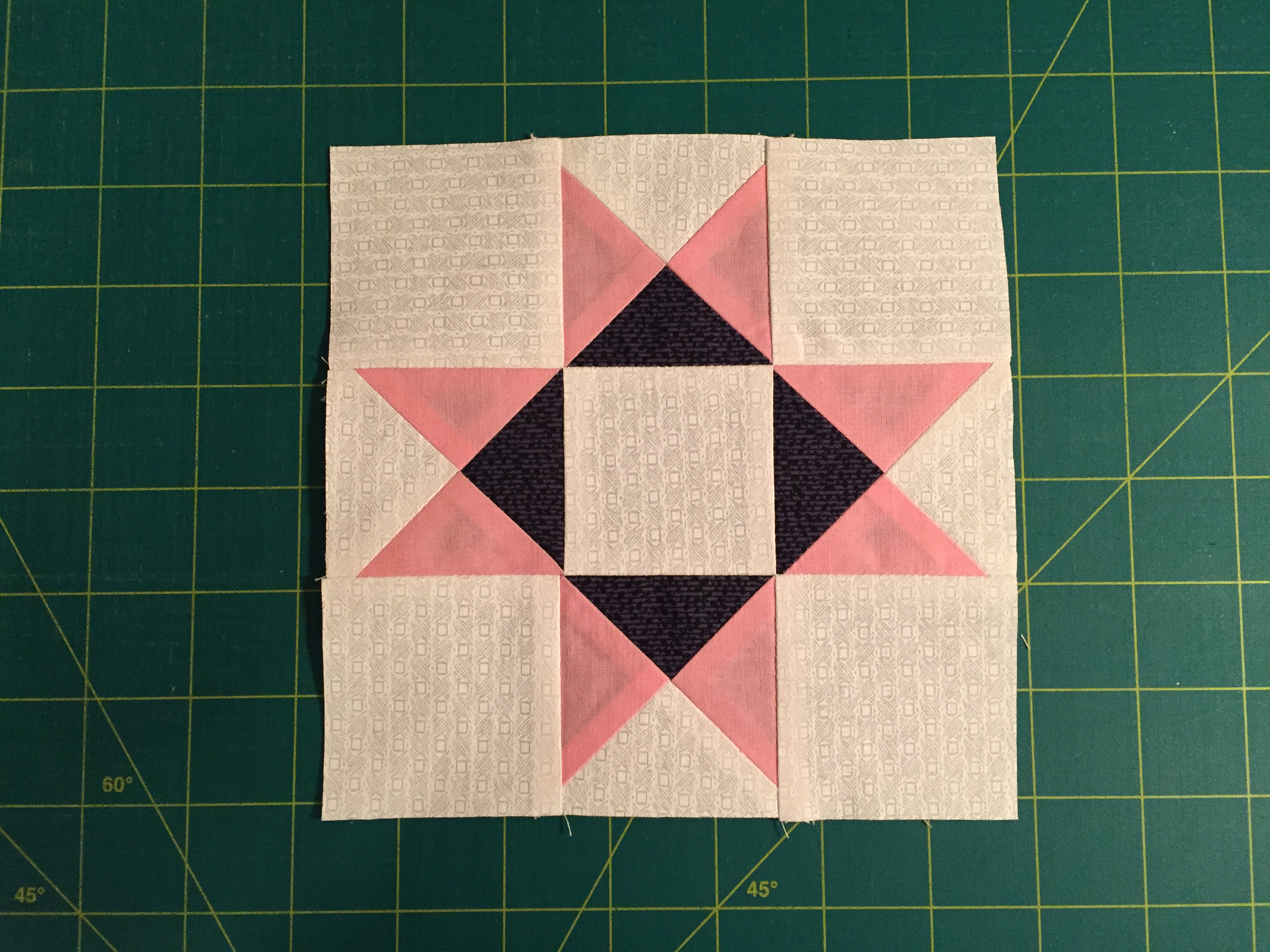 Stitch An Ohio Star Quilt Block  How To Read An Exploded