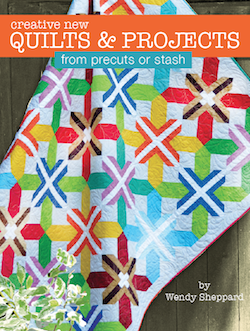 Creative New Quilts & Projects from precuts or stash - Quilt Books ... : new quilt books - Adamdwight.com