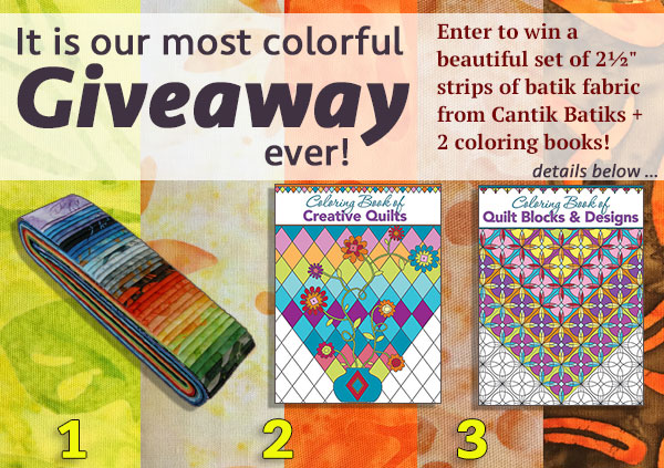 Colorful Giveaway