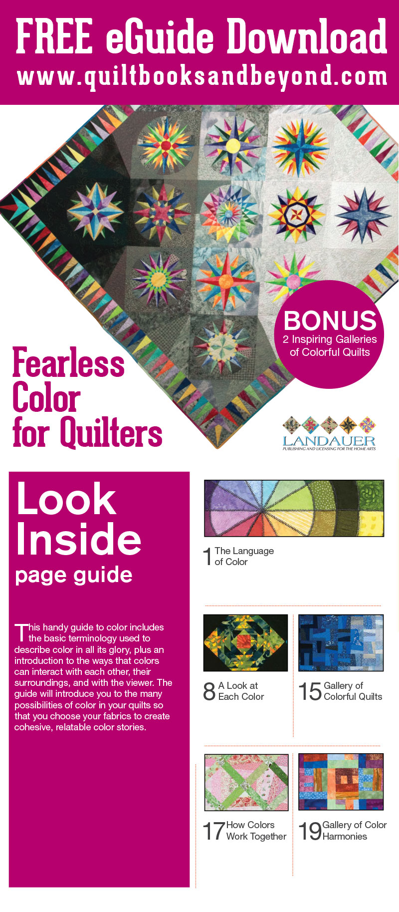 FreeColorForQuilterseGuide