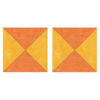 I love Quarter-Square Triangles!