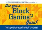 Block Genius Quiz