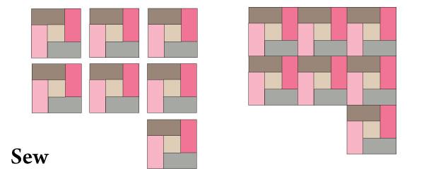 Square-agonals Step 1