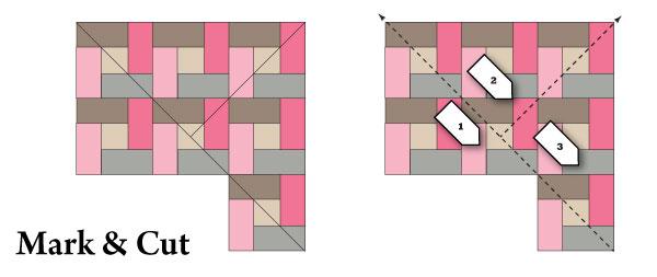 Square-agonals Step 2