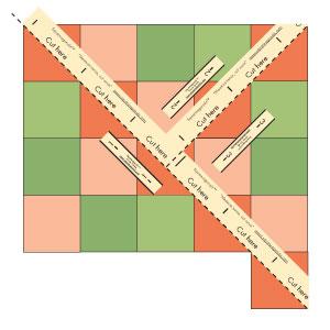 Square-agonals Tape