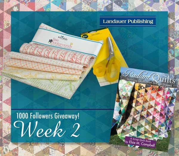 Week 2 giveaway