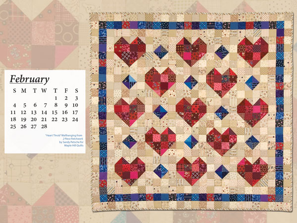 February Calendar B