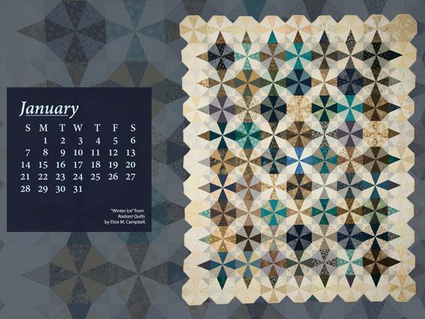 January Calendar A